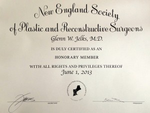 Dr. Jelks at the New England Society of Plastic and Reconstructive Surgeons, Inc. 54th Annual Meeting