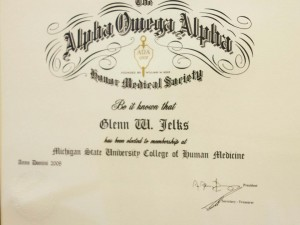 Honor Society Alpha Omega Alpha
