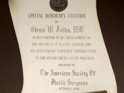 Honorary Citation