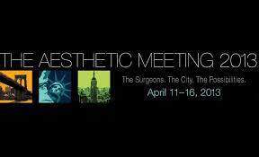 2013 Aesthetic Meeting New York New York