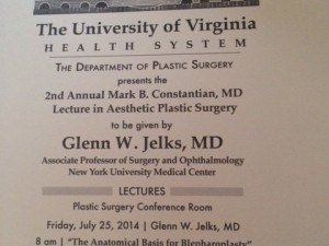 Constantian Lectureship University of Virginia