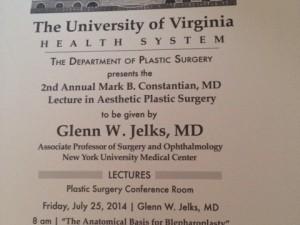 Constantian Lectureship University of Virginia